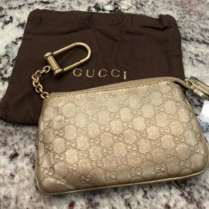 Gucci count and key pouch